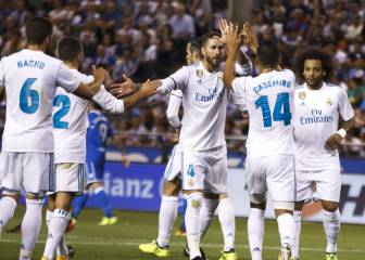 Real Madrid get off to a winning start in A Coruña
