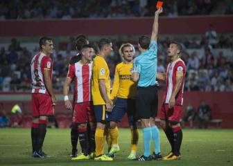 Atlético to challenge Girona referee's match report