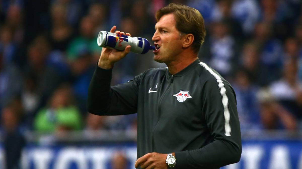 Ralph Hasenhuttl, entrenador del RB Leipzig.