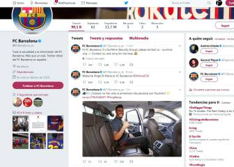 Hacked Barça Twitter account announces Di María signing