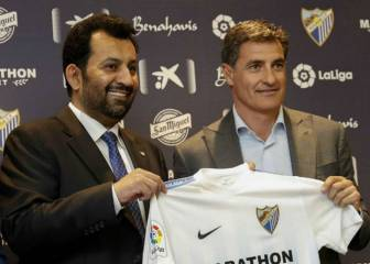 Málaga owner Al-Thani takes potshot at Míchel on Twitter