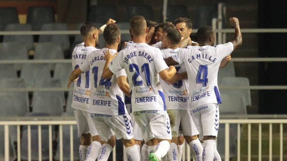 El Tenerife único equipo con pleno de victorias.