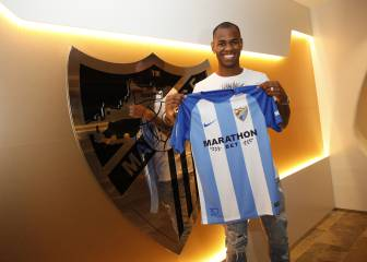 Málaga complete deal for Bordeaux striker Diego Rolán