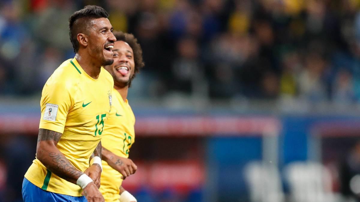 Brasil 2-0 Ecuador  goles 10fe156aa6723