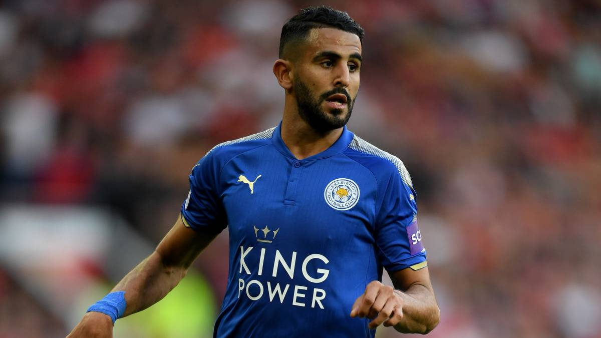 Mahrez leaves Algeria squad to sort move, Barcelona after ace