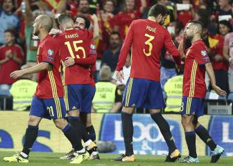 Spain seven points from qualifying for 2018 World Cup