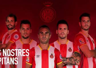 Amagat, Granell, Aday, Stuani y Alcalá, capitanes del Girona