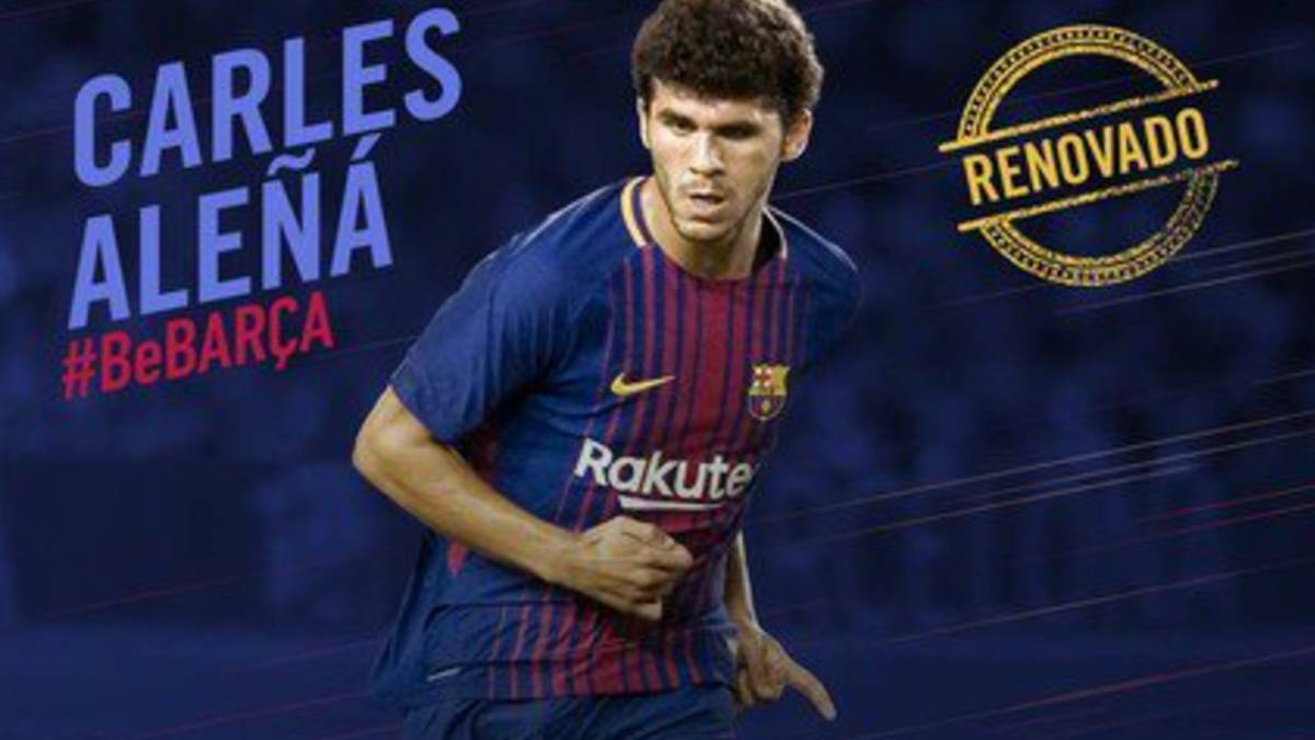 Aleñá sings new Barça contract and will stay at Camp Nou for three more seasons