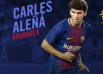 Aleñá signs new Barça contract