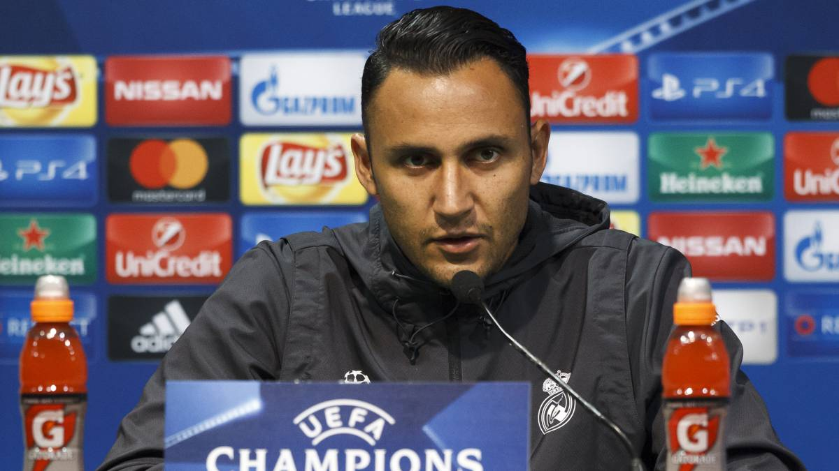 "Keylor Navas: ""It's great to have Cristiano back"""