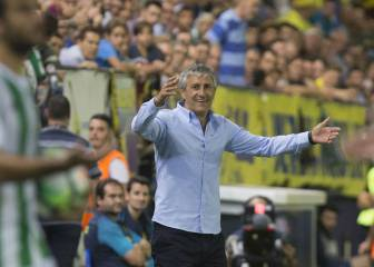 Quique Setién asks Betis fans to bear with work in progress