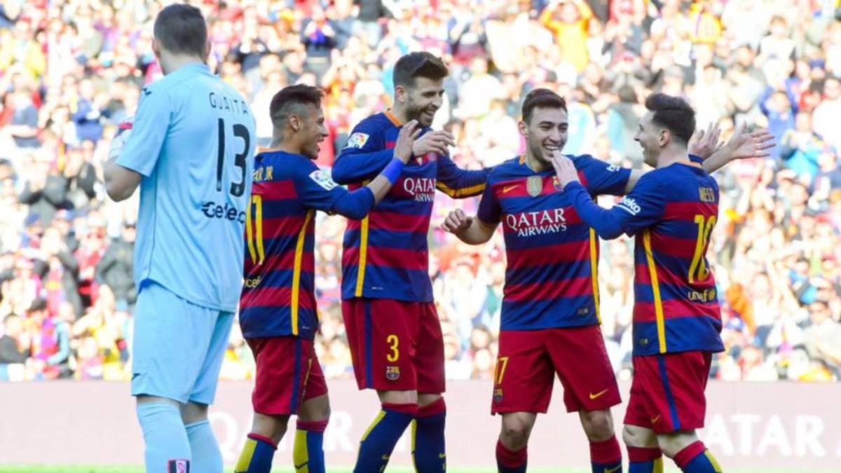 El Barça es el peor visitante para el Getafe