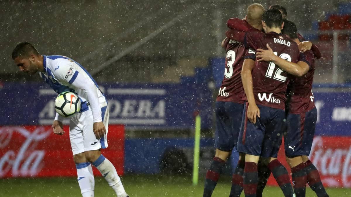 Eibar 1-0 Leganés: resumen, goles y resultado. Gálvez fue el encargado de decidir el encuentro al rematar a gol un centro de Inui en una jugada que el mismo central armero había iniciado.