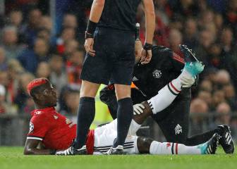 Mourinho livid with Pogba over injury