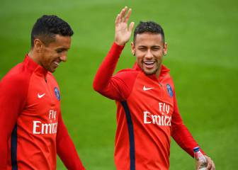 Neymar with some difficuly learning French, enlists Marquinhos as teacher