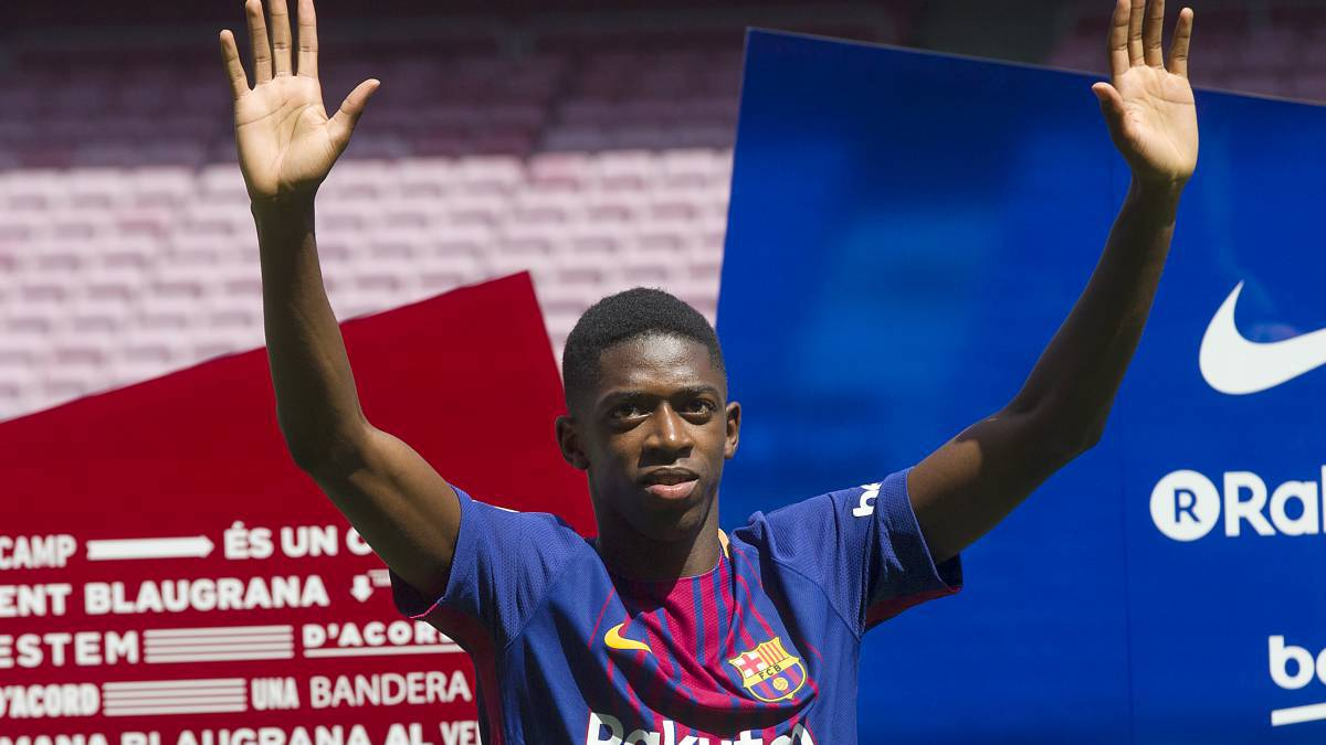 Easily satisfied add-ons in Barcelona Dembélé signing