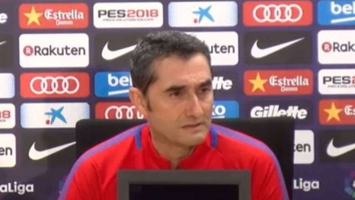 "Valverde: ""I'll be the one to decide if Messi and Suárez are rotated"""