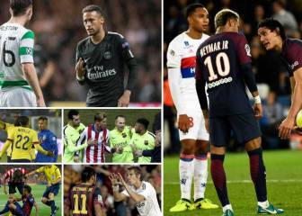 The king of troublemaking: Neymar's greatest fights