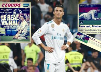 Global press acknowledge Real Madrid Bernabeu slump