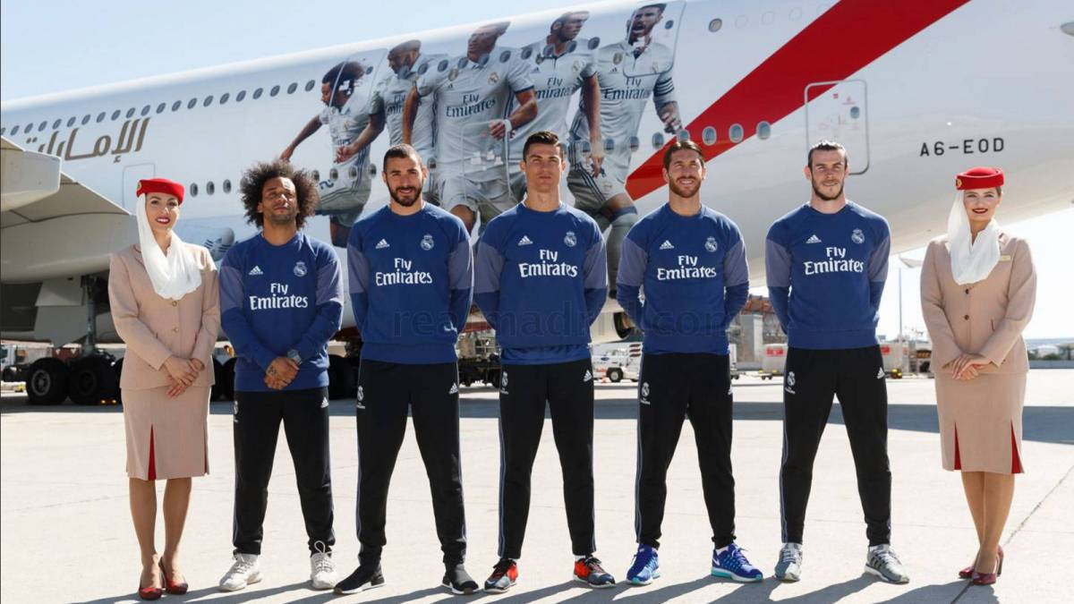 Real Madrid agree record-breaking sponsorship deal with Emirates
