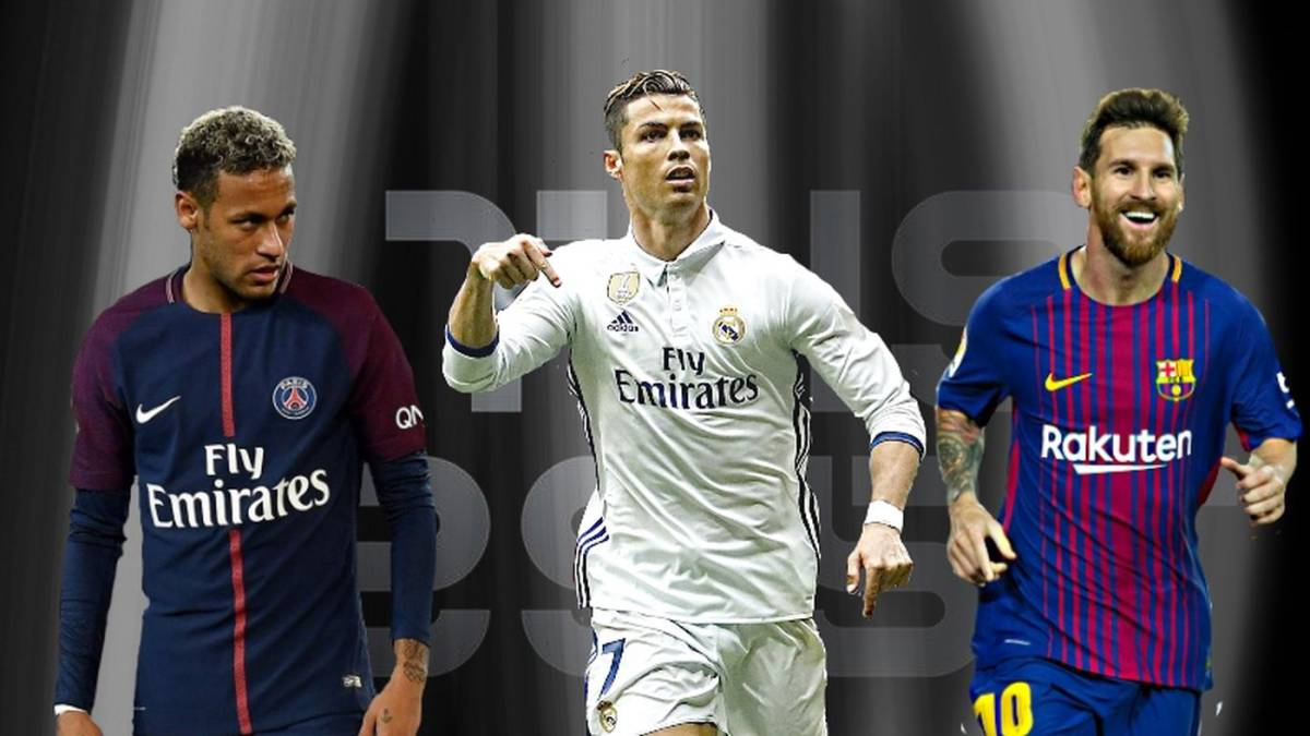Cristiano, Messi y Neymar, finalistas al FIFA The Best