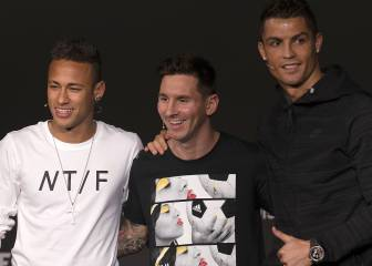 Los méritos de Cristiano, Messi y Neymar para ganar The Best