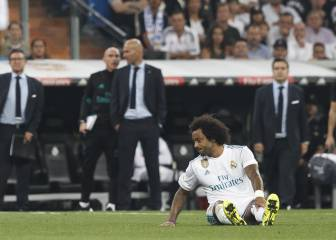 More bad news for Zidane: Marcelo out for a month