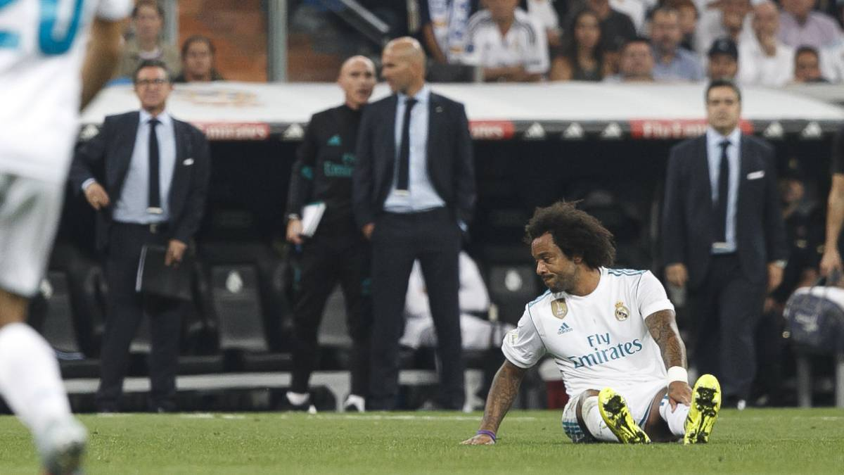 Marcelo, out for a month, to miss Dortmund and Spurs games