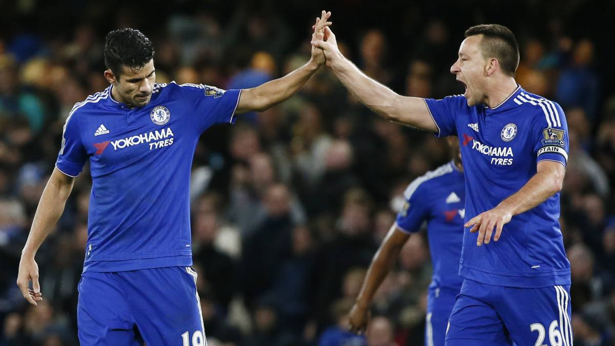 Diego Costa y Terry.
