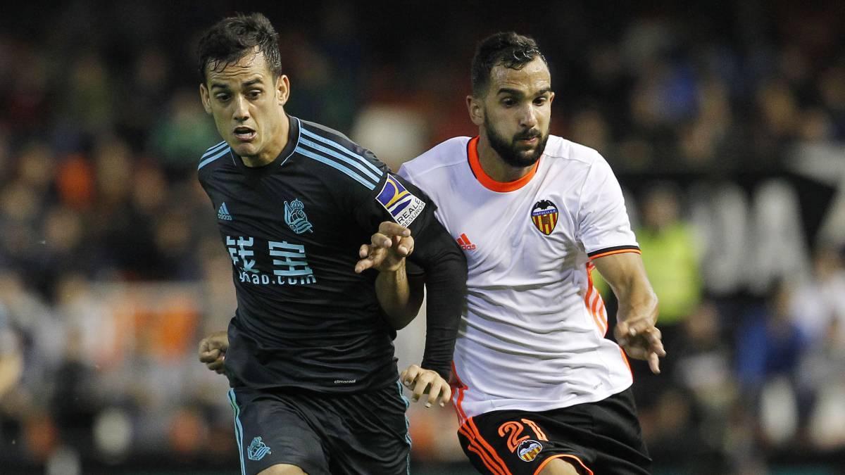 Real Sociedad vs Valencia en directo y en vivo online, jornada 6 de LaLiga Santander 2017/18, el domingo, 24 de septiembre a las 20.45 horas en As.