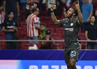 Batshuayi scores as Chelsea beat Atlético at the death