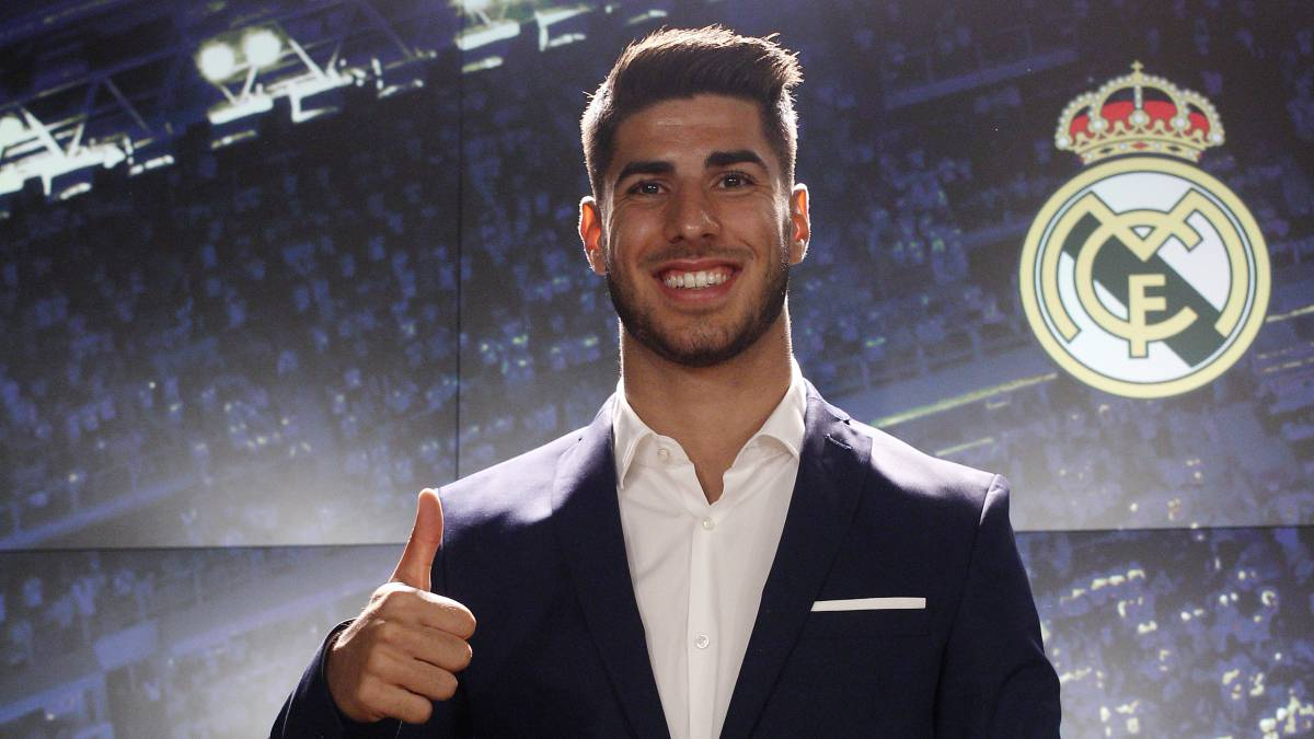 "Marco Asensio: ""Zidane was my idol, and now he's my coach"""