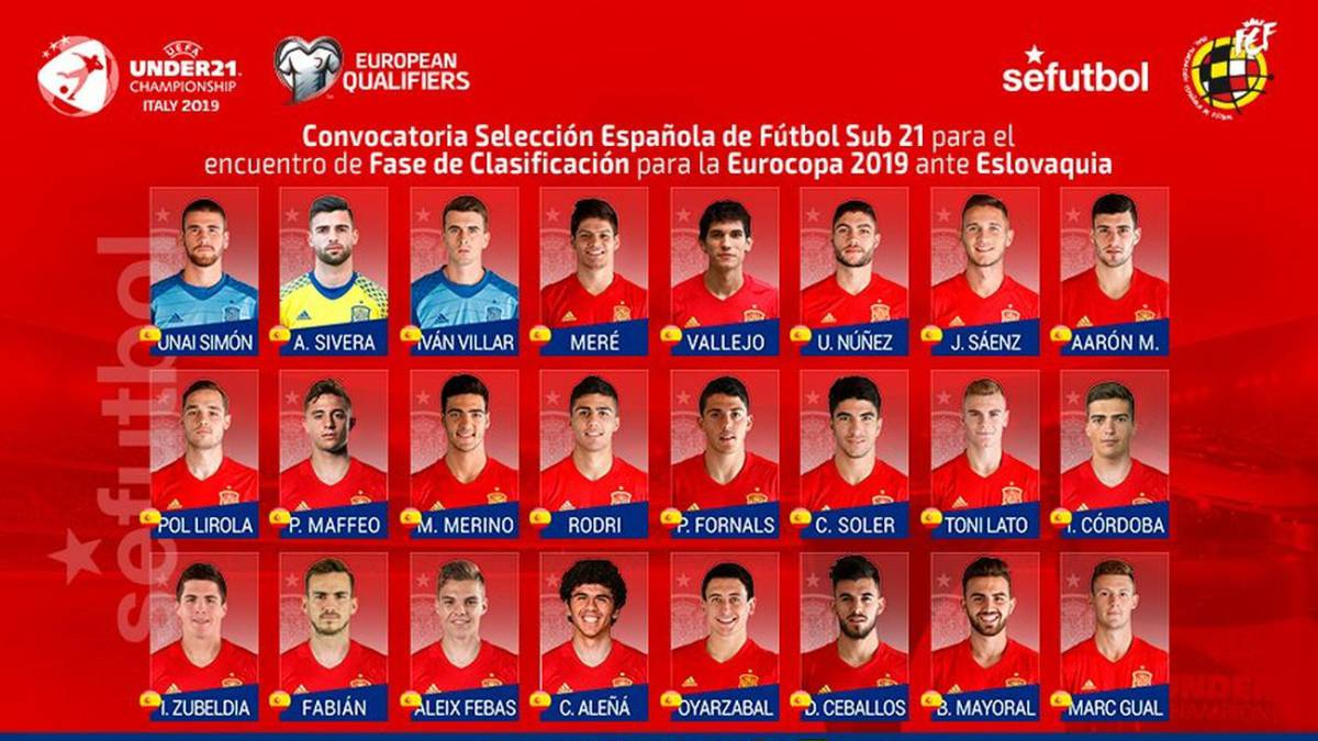 Sidelined Jesús Vallejo called up for duty with Spain's Under-21s