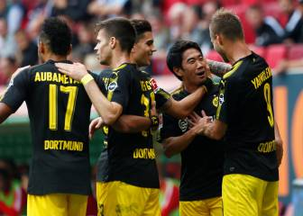 Dortmund clear at top despite Aubameyang penalty miss