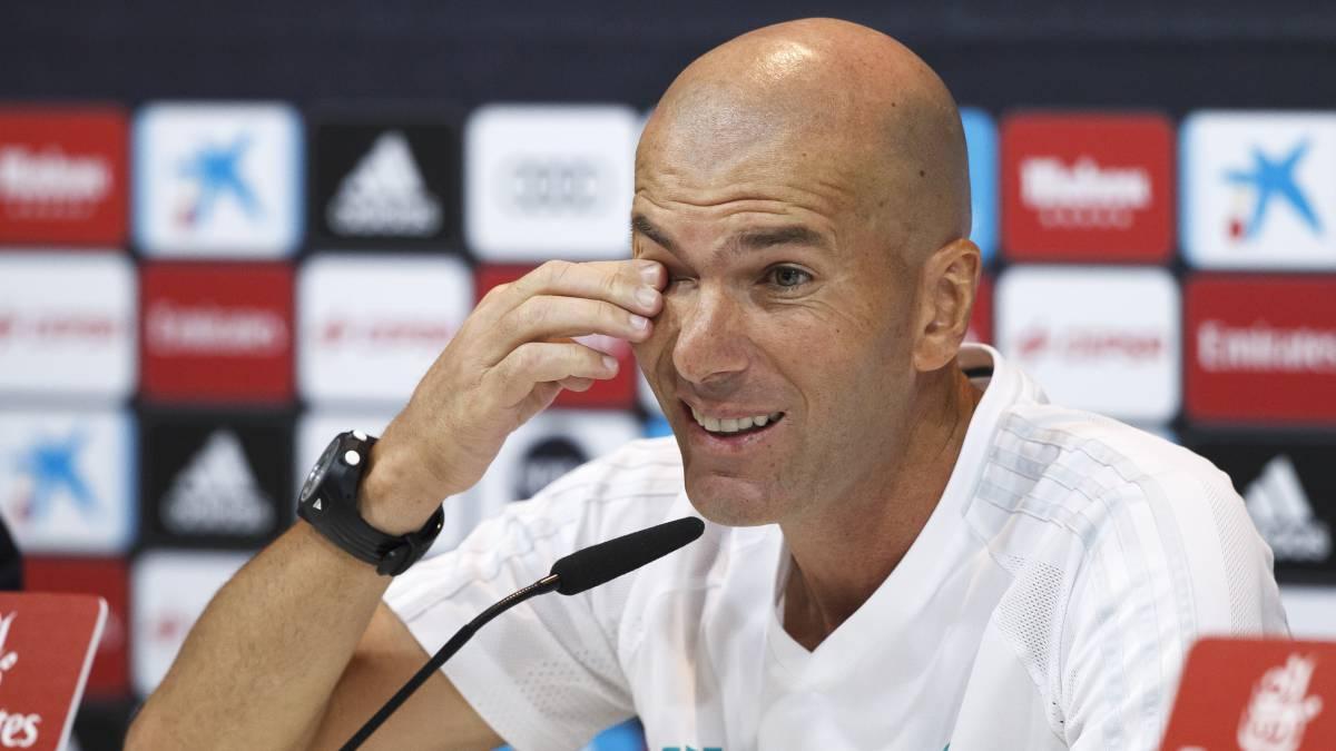 """Zidane: """"Bale podría ir en la lista, tiene una sobrecarga, nada más"""""""