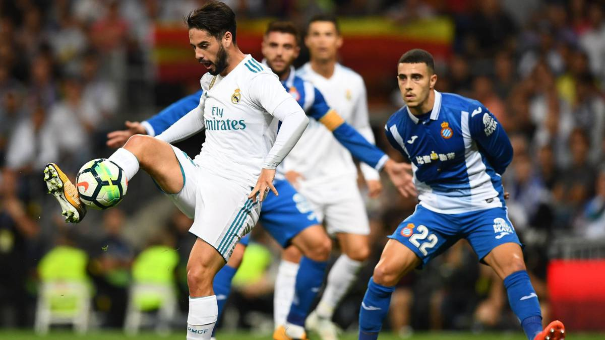 Sigue la retransmisión, en vivo y en directo online, del Real Madrid vs Espanyol en AS.com.
