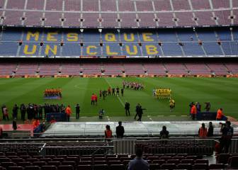 Barça avoid points deductions for closed door game