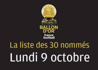 L'Equipe reveal plans to name 30 Ballon d'Or candidates