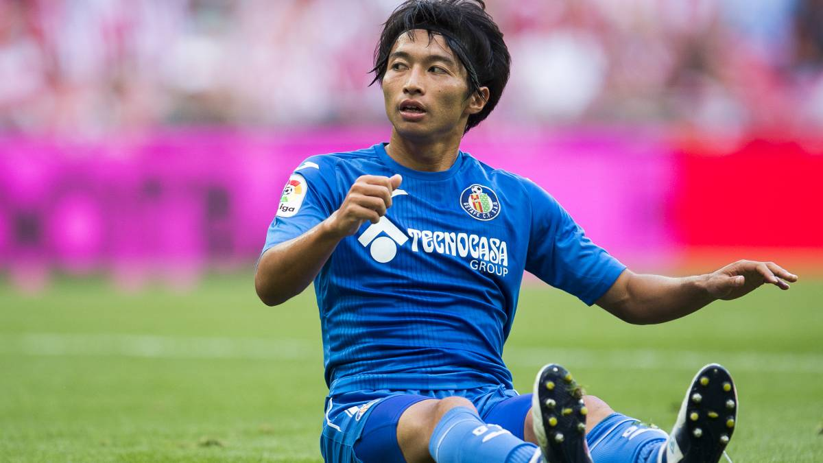 Getafe's Gaku Shibasaki out for two months after surgery