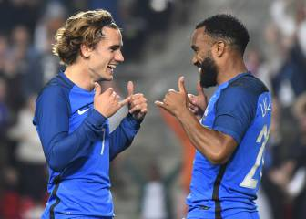 Lacazette wants to convince Griezmann to sign for Arsenal