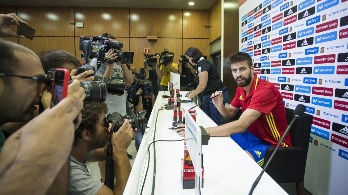 Gerard Piqué press conference: 20 key phrases