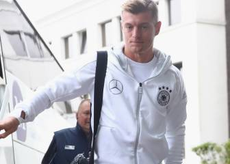 Germany release Toni Kroos from squad over rib complaint