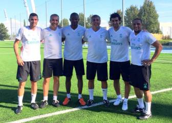 Raúl and Roberto Carlos start work with Madrid's youth teams