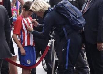 Griezmann finds an Atlético 'Mini-Grizi' in Bulgaria