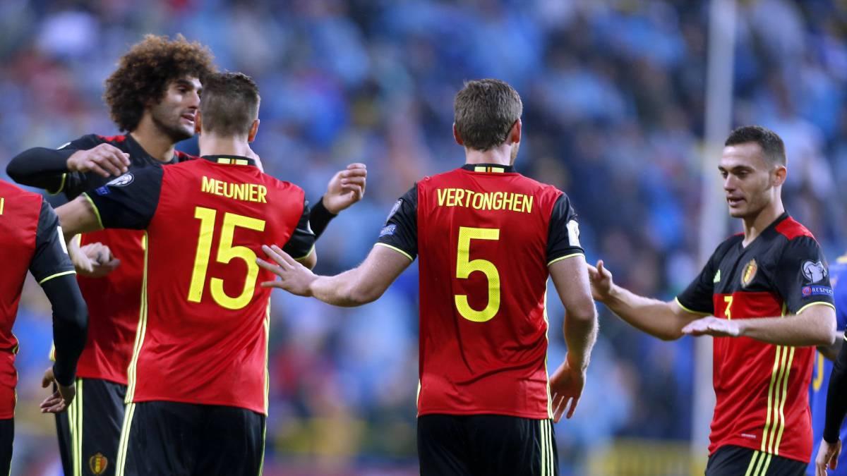 Sigue el Bélgica-Chipre directo online, partido de clasificación para Rusia 2018, hoy, 10 de octubre a las 20.45 horas en AS.