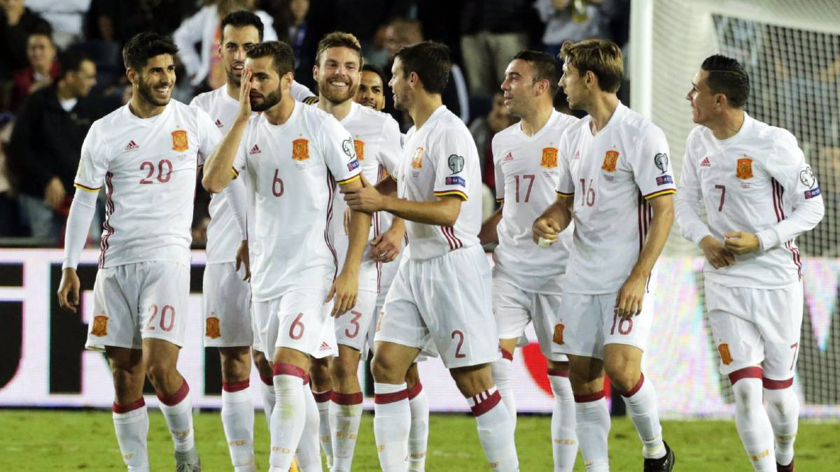 'La Roja' fail to secure top seeding ahead of WC 2018 draw