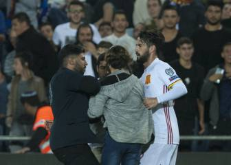 Man arrested in Israel for approaching Isco with a knife