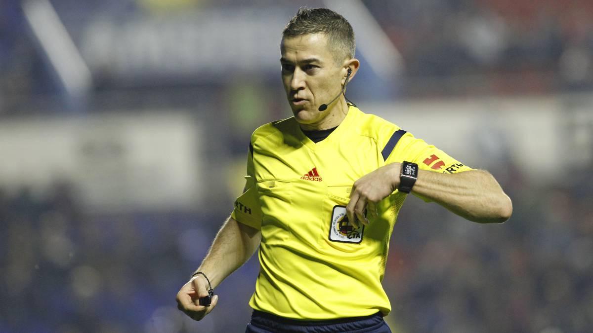Iglesias Villanueva arbitrará el Fuenlabrada-Real Madrid