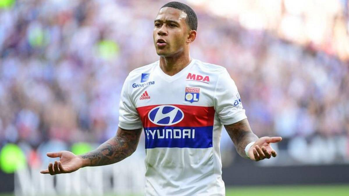 "Memphis Depay: ""I think I'll end up playing for Real Madrid"""