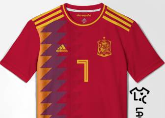 Possible Spain 2018 World Cup shirt leaked